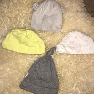 Other - Burt's bees carter's hat bundle 0-3 months